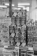 16/3/1966<br /> 3/16/1966<br /> 16 March 1966<br /> <br /> Lux Flakes Display at Quinn Supermarket on Fingal St.