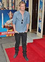 LONDON - July 31: Gerard McCarthy at the Spamalot Press Night (Photo by Brett D. Cove)