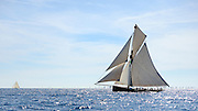 "France Saint - Tropez October 2013, Classic Yachts racing at the Voiles de Saint - Tropez<br /> C,CAG,MARIGOLD,""23,82"",COTRE AURIQUE/1892,CHARLES NICHOLSON"
