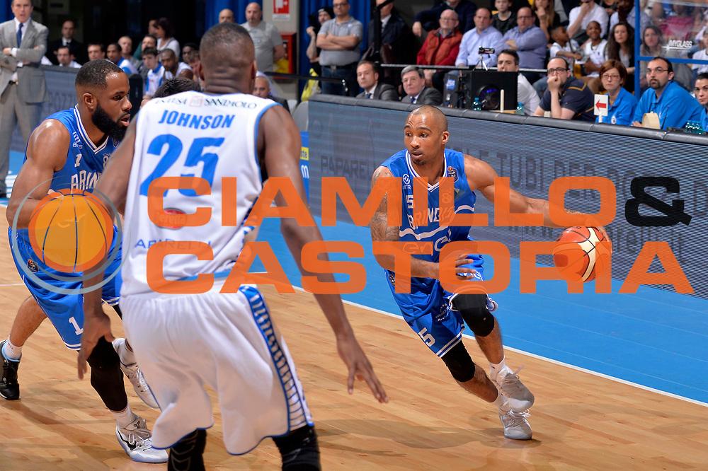 Phil Goss<br /> Mia Cantu - Enel New Basket Brindisi<br /> Lega Basket Serie A 2016/2017<br /> Desio, 19/03/2017<br /> Foto Ciamillo - Castoria
