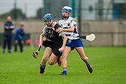 24/09/2016, Intermediate Camogie Final at Trim.<br /> Boardsmill vs Dunderry<br /> Anna Byrne (Dunderry) & Leanne Bagnall (Boardsmill)<br /> Photo: David Mullen /www.cyberimages.net / 2016<br /> ISO: 800; Shutter: 1/1328; Aperture: 4; <br /> File Size: 2.7MB<br /> Print Size: 8.6 x 5.8 inches