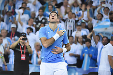 Zagreb- Davis Cup Final - Croatia Vs Argentina - 25 Nov 2016