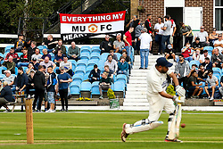A game of Cricket takes place next to Turf Moor ahead of Burnley v Manchester United - Mandatory by-line: Robbie Stephenson/JMP - 02/09/2018 - FOOTBALL - Turf Moor - Burnley, England - Burnley v Manchester United - Premier League