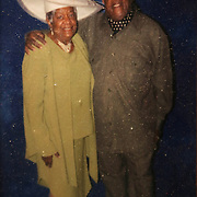 Mr. Johnson and his sister Fay Johnson. John E. Johnson, who is not eligible for medicaid, receives services for 12 hours per week through Illinois' Community Care Program. Johnson worries his services will be cut if the state transition seniors like him to a new program. The state employs Reggie Griffin to help Johnson with daily chores so he is able to stay in his home, as opposed to going to an nursing home. <br /> Photography by Jose More