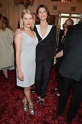 Left to right, sisters HANNAH ARTERTON and GEMMA ARTERTON at the Audi Ballet Evening at The Royal Opera House, Covent Garden, London on 23rd April 2015.