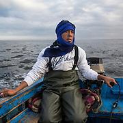 Rachid, pêcheur Sarahoui.