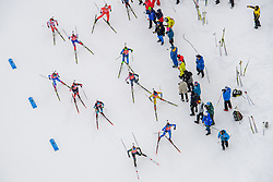 March 16, 2019 - –Stersund, Sweden - 190316 Athletes compete in the Women's 4x6 km Relay during the IBU World Championships Biathlon on March 16, 2019 in Östersund..Photo: Petter Arvidson / BILDBYRÃ…N / kod PA / 92268 (Credit Image: © Petter Arvidson/Bildbyran via ZUMA Press)
