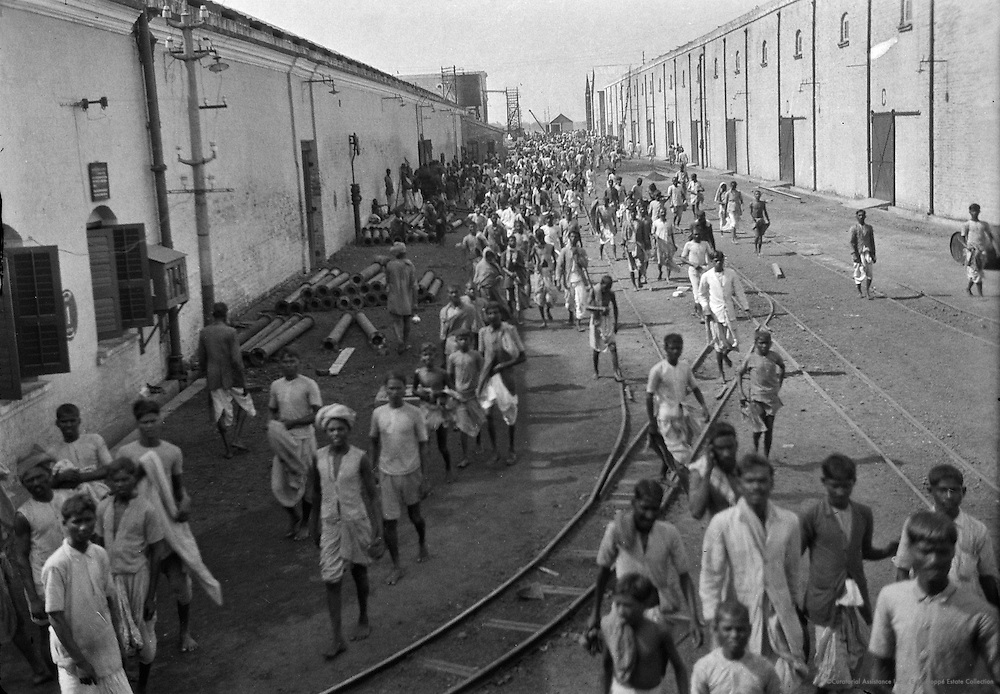 Lunch Hour, Birla Jute Mill, Calcutta, 1929