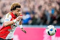 ROTTERDAM - Feyenoord - SC Cambuur , Voetbal , Seizoen 2015/2016 , Eredivisie , Feijenoord Stadion De Kuip , 06-03-2016 , Speler van Feyenoord Tonny Vilhena