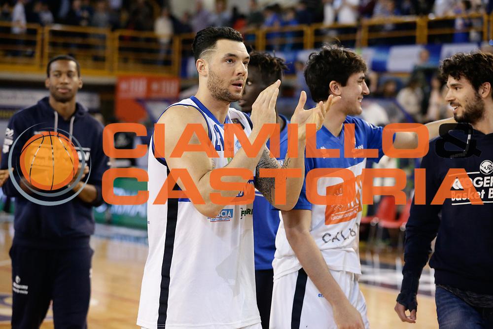Christian Burns<br /> Germani Basket Brescia Leonessa - Pasta Reggia Juve Caserta<br /> Lega Basket Serie A 2016/2017<br /> Montichiari, 02/04/2017<br /> Foto Ciamillo-Castoria / M. Brondi