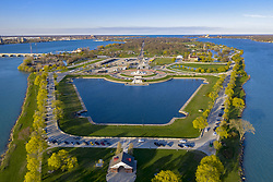 April 28, 2019 - Detroit, Michigan, U.S. - Detroit, Michigan - Belle Isle, a state park on an island in the Detroit River. (Credit Image: © Jim West/ZUMA Wire)