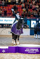 Werth Isabell, GER, Weihegold OLD<br /> LONGINES FEI World Cup&trade; Finals Gothenburg 2019<br /> &copy; Hippo Foto - Stefan Lafrentz<br /> 06/04/2019