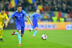 November 14, 2017 - Bucharest, Romania - Steven Berghuis (Ned) during International Friendly match between Romania and Netherlands at National Arena Stadium in Bucharest, Romania, on 14 november 2017. (Credit Image: © Alex Nicodim/NurPhoto via ZUMA Press)