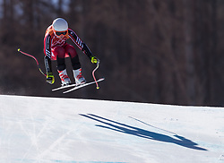 February 17, 2018 - PyeongChang, South Korea - VALERIE GRENIER of Canada during Alpine Skiing: Ladies Super-G at Jeongseon Alpine Centre at the 2018 Pyeongchang Winter Olympic Games. (Credit Image: © Patrice Lapointe via ZUMA Wire)