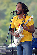 Reggae musician Ziggy Marley performing a children's set at the Austin City Limits Music Festival, September 16, 2007