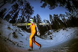 13.12.2013, Nordische Arena, Ramsau, AUT, FIS Nordische Kombination Weltcup, Skisprung Training, im Bild Marjan Jelenko (SLO) // Marjan Jelenko (SLO) during Ski Jumping Training of FIS Nordic Combined World Cup at the Nordic Arena in Ramsau, Austria on 2013/12/13. EXPA Pictures © 2013, EXPA/ JFK