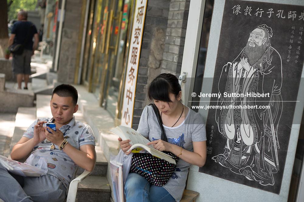 Guozijian Dajie, in Beijing, China, Saturday 2nd June 2012.