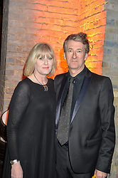 SARAH LANCASHIRE and PETER SALMON at A Night of Motown in aid of Save The Children UK held at The Roundhouse, Chalk Farm Road, London on 3rd March 2016.