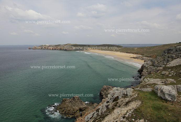 Crozon peninsula (presqu ile de Crozon) - Cap de la Chevre et Pointe de Pen-Hir (Brittany, Finistère, France)