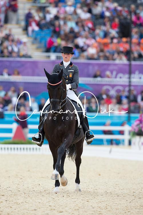 Barbancon Mastrets Morgan (ESP) - Painted Black<br /> Olympic Games London 2012<br /> &copy; Dirk Caremans
