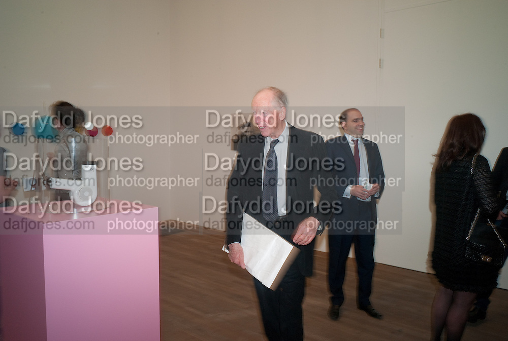 LORD JACOB ROTHSCHILD, Damien Hirst, Tate Modern: dinner. 2 April 2012.