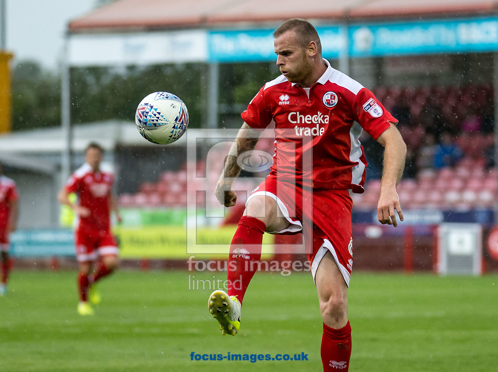 Mark Connolly of Crawley Town during the Sky Bet League 2 match at  Checkatrade.com Stadium, Crawley<br /> Picture by Liam McAvoy/Focus Images Ltd 07413 543156<br /> 05/08/2017