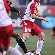 Dax McCarty, New York Red Bulls, in action during the New York Red Bulls Vs D.C. United,Major League Soccer regular season opening match at Red Bull Arena, Harrison, New Jersey. USA. 22nd March 2015. Photo Tim Clayton