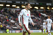 Milton Keynes Dons midfielder Darren Potter (8) during the Sky Bet Championship match between Milton Keynes Dons and Brighton and Hove Albion at stadium:mk, Milton Keynes, England on 19 March 2016.
