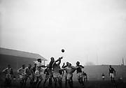 Irish Rugby Football Union, Ireland v South Africa, Tour Match, Landsdowne Road, Dublin, Ireland, Saturday 17th December, 1960,.17.12.1960, 12.17.1960,..Referee- G J Treharne, Welsh Rugby Union, ..Score- Ireland 3 - 8 South Africa, ..Irish Team, ..T J Kiernan,  Wearing number 15 Irish jersey, Full Back, University college Cork Football Club, Cork, Ireland,  ..W W Bornemann, Wearing number 14 Irish jersey, Right Wing, Wanderers Rugby Football Club, Dublin, Ireland, ..J C Walsh,  Wearing number 13 Irish jersey, Right Centre, University college Cork Football Club, Cork, Ireland,..A C Pedlow, Wearing number 12 Irish jersey, Left Centre,  C I Y M S Rugby Football Club, Belfast, Northern Ireland, ..N H Brophy, Wearing number 11 Irish jersey, Left wing, Blackrock Rugby Football Club, Dublin, Ireland, ..W K Armstrong, Wearing number 10 Irish jersey, Stanf Off, N.I.F.C, Rugby Football Club, Belfast, Northern Ireland,..A A Mulligan, Wearing number 9 Irish jersey, Scrum Half, London Irish Rugby Football Club, Surrey, England, ..S Millar, Wearing number 1 Irish jersey, Forward, Ballymena Rugby Football Club, Antrim, Northern Ireland,..A R Dawson, Wearing number 2 Irish jersey, Captain of the Irish team, Forward, Wanderers Rugby Football Club, Dublin, Ireland, ..B G Wood, Wearing number 3 Irish jersey, Forward, Landsdowne Rugby Football Club, Dublin, Ireland,..W A Mulcahy, Wearing number 4 Irish jersey, Forward, University College Dublin Rugby Football Club, Dublin, Ireland, ..M G Culliton, Wearing number 5 Irish jersey, Forward, Wanderers Rugby Football Club, Dublin, Ireland, ..J R Kavanagh, Wearing number 6 Irish jersey, Forward, Wanderers Rugby Football Club, Dublin, Ireland, ..P J A O' Sullivan, Wearing  Number 8 Irish jersey, Forward, Galwegians Rugby Football Club, Galway, Ireland,..N A Murphy, Wearing number 7 Irish jersey, Forward, Garryowen Rugby Football Club, Limerick, Ireland, ..South African Team, ..L G Wilson, Wearing number 15 South African jersey, Full Back, West