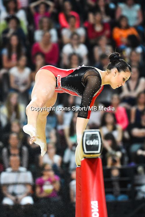 Vanessa Ferrari - Poutre - 15.04.2015 - Qualifications - Championnats d'Europe Gymnastique artistique - Montpellier<br />Photo : Dimou / Icon Sport *** Local Caption ***