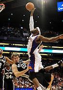 NBA: San Antonio Spurs vs Phoenix Suns//20101103