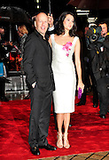19.OCTOBER.2010. LONDON<br /> <br /> BRUCE WILLIS AND PARTNER EMMA HEMING ATTEND THE RED FILM PREMIER HELD AT THE ROYAL FESTIVAL HALL IN LONDON .<br /> <br /> BYLINE: EDBIMAGEARCHIVE.COM<br /> <br /> *THIS IMAGE IS STRICTLY FOR UK NEWSPAPERS AND MAGAZINES ONLY*<br /> *FOR WORLD WIDE SALES AND WEB USE PLEASE CONTACT EDBIMAGEARCHIVE - 0208 954 5968*