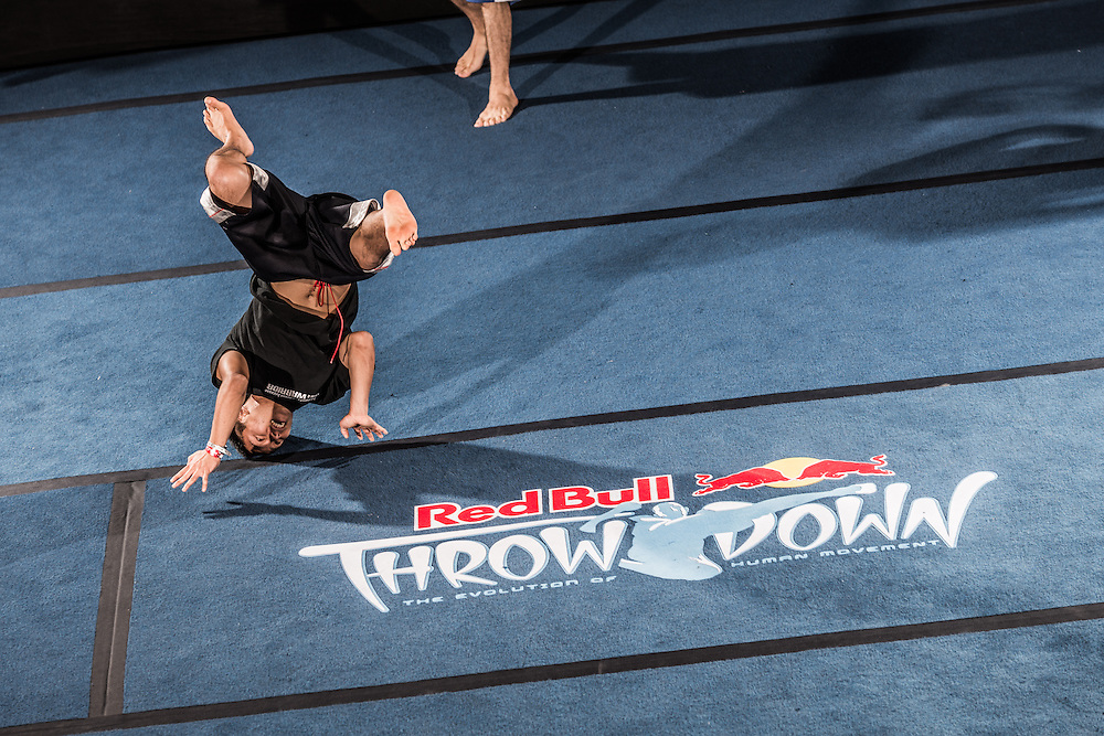Patrick Chu competes during the one on one event  at Red Bull Throwdown in Atlanta, Georgia on August 25th, 2013