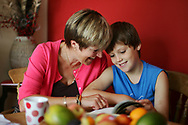 Case study, Mother and son - shot for Macmillan Cancer Support