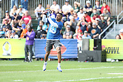 Jan 23, 2019; Kissimmee, FL, USA;  Dallas Cowboys Wide Receiver Amari Cooper (19) catches a pass at the NFC team practice at the 2019 Pro Bowl at ESPN Wide World of Sports Complex. (Kim Hukari/Image of Sport)