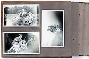family photo album page 1950