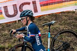 MANI Caroline (FRA) during Women Elite race, 2020 UCI Cyclo-cross Worlds Dübendorf, Switzerland, 1 February 2020. Photo by Pim Nijland / Peloton Photos | All photos usage must carry mandatory copyright credit (Peloton Photos | Pim Nijland)