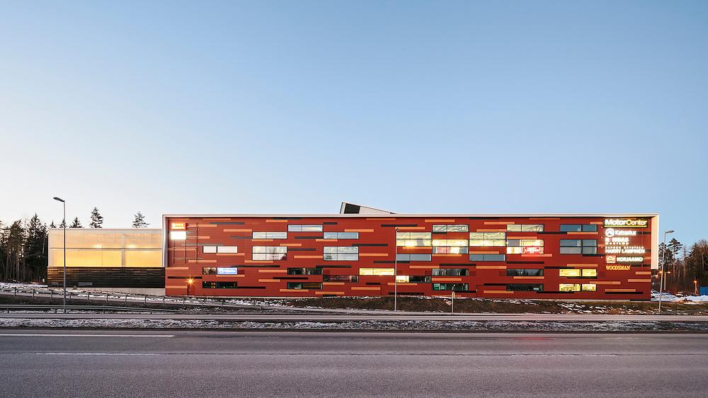 MC Espoonlahti in Espoo Finland, designed by Soini & Horto architects.
