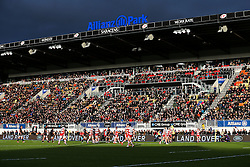 General View - Rogan Thomson/JMP - 27/11/2016 - RUGBY UNION - Allianz Park - London, England - Saracens v Gloucester Rugby - Aviva Premiership.