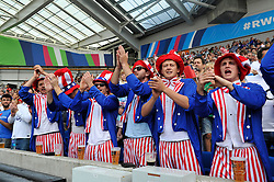 USA fans in the crowd show their support - Mandatory byline: Patrick Khachfe/JMP - 07966 386802 - 20/09/2015 - RUGBY UNION - Brighton Community Stadium - Brighton, England - Samoa v USA - Rugby World Cup 2015 Pool B.