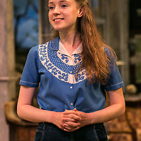 The Chalk Garden by Enid Bagnold;<br /> Directed by Alan Strachan;<br /> Emma Curtis (as Laurel);<br /> Chichester Festival Theatre, Chichester.<br /> 30 May 2018.<br /> © Pete Jones<br /> pete@pjproductions.co.uk