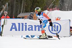 PUEYO MARIMON Ursula LW2 ESP at 2018 World Para Alpine Skiing Cup, Kranjska Gora, Slovenia