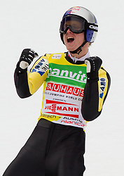 Thomas Morgenstern of Austria during Flying Hill Team at 3rd day of FIS Ski Jumping World Cup Finals Planica 2011, on March 19, 2011, Planica, Slovenia. (Photo by Vid Ponikvar / Sportida)