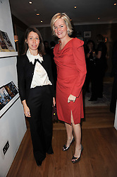 Left to right, LADY SARAH CHATTO and LADY BRUCE DUNDAS at the Linley Christmas Party and launch of the book 'Star Pieces' by David Linley, Charles Cator and Helen Chislett held at Linley, 60 Pimlico Road, London on 18th November 2009.