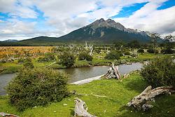 Passeio turístico com o Trem do Fim do Mundo no Parque Nacional Tierra del Fuego. FOTO: Jefferson Bernardes/ Agência Preview