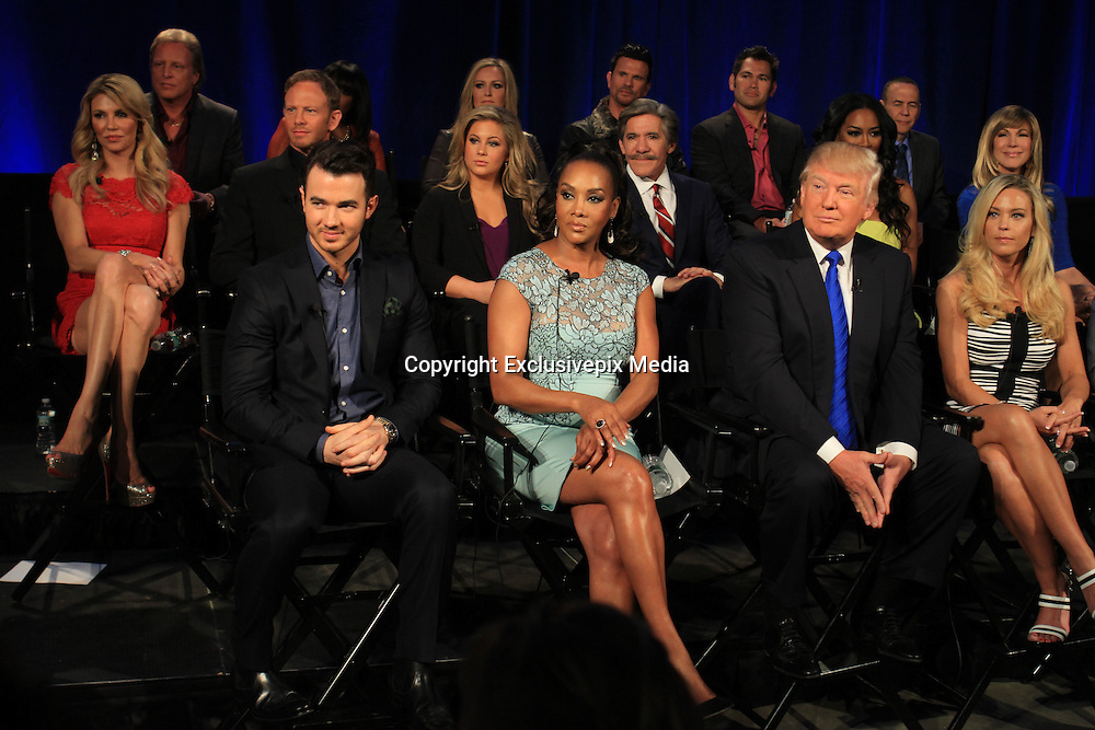 The 2015 Celebrity Apprentice Finale<br /> <br /> Donald Trump, Ivanka Trump, Don Trump JR., Eric Trump, Geraldo Rivera, Leeza Gibbons, Ian Zering, Kevin Jonas, Johnny Damon, Kate Gosselin, Keeshia Knight-Pulliam, Jamie Anderson, Brandi Glanville, Lorenzo Lamas, Vivica A. Fox, Shawn Johnson, Lorenzo Lamas, Sig Hansen, Kenya Moore, Terrell Owens, Gilbert Godfried,<br /> ©Exclusivepix Media