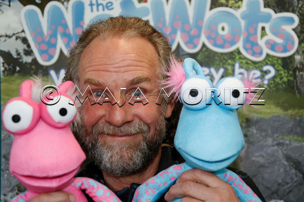 Martin Baynton, creator of the WotWots, Weta Studios, Wellington, New Zealand
