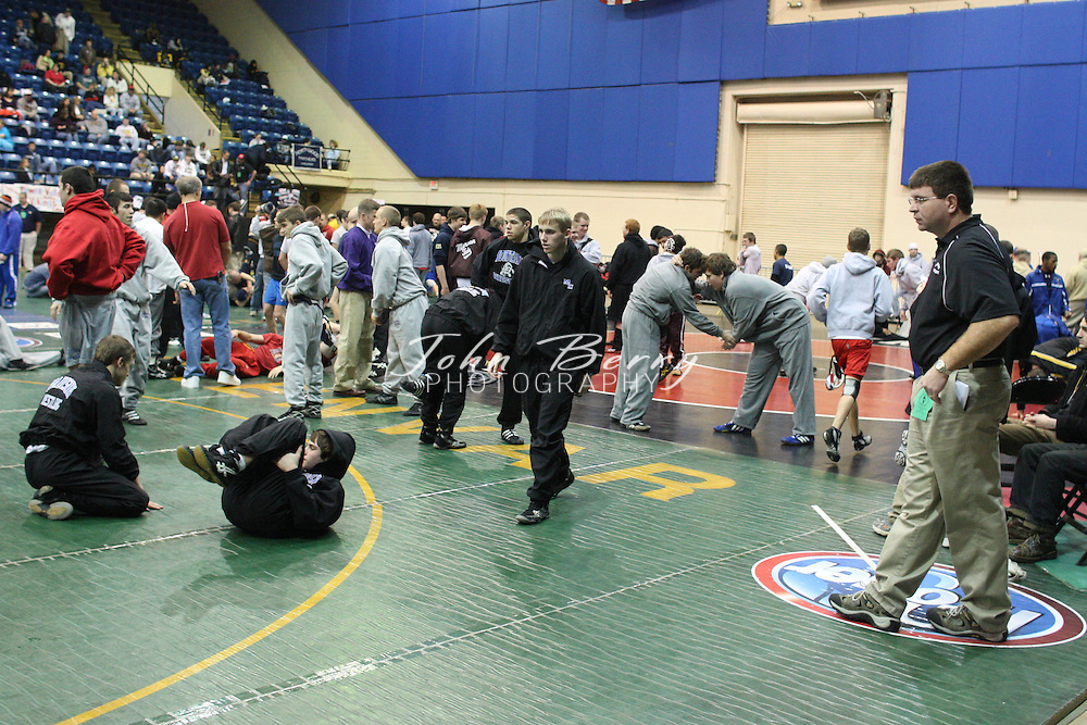 2009 Wrestling State Championships .Salem Civic Center.MCHS Wrestling.First round results....Dylan Basta (119)....Lost, 15-10 to Chris Bowden of Covenant..Bobby Basta (125)....Won, 8-4 over K.W. King of James River..Ethan O'Connell (130)....Won, 11-5 over Antwan Flyth of Franklin..Jarrett Brumett (135)...Won, by injury default over Michael Nguyen of Lancaster..Tyler Atwell (140)...Won, by pin in 1:30 over Dylan Asbury of Lancaster..Baxter Helmick (145)...Won, by pin in 5:47 over Frankie Krawczel of Northampton..Brandon Utz (215).....Won, by pin in 1:46 over Dakota Smith of St. Paul.2/20/09