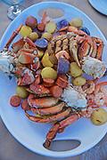 Bellingham, WA crab dinner
