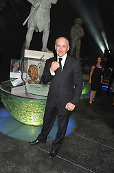 BARRY MCGUIGAN at The Global Party held at The Natural History Museum, Cromwell Road, London on 8th September 2011.